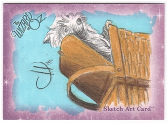The Wizard of Oz Color Sketch Card (Toto)