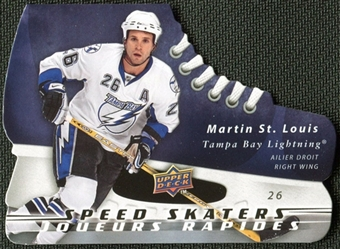 2008/09 McDonald's Upper Deck Speed Skaters Martin St. Louis #SS1