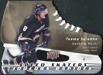 2008/09 McDonald's Upper Deck Speed Skaters Teemu Selanne #SS3