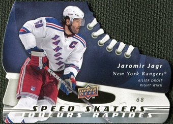 2008/09 McDonald's Upper Deck Speed Skaters Jaromir Jagr #SS5