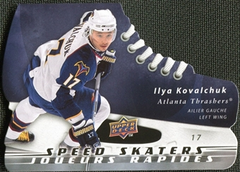 2008/09 McDonald's Upper Deck Speed Skaters Ilya Kovalchuk #SS8
