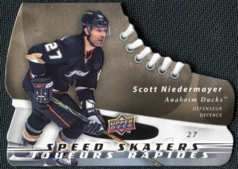 2008/09 McDonald's Upper Deck Speed Skaters Scott Niedermayer #SS10