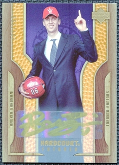 2006/07 Upper Deck Hardcourt #136 Andrea Bargnani Autograph RC /399