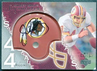 2003 Upper Deck Sweet Spot Signatures #SSRI John Riggins Autograph SP /75