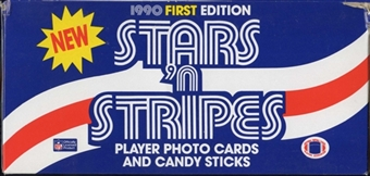1990 Stars & Stripes Football Box