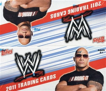 2011 Topps WWE Wrestling Retail 24-Pack Box