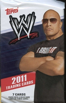 2011 Topps WWE Wrestling Retail Pack