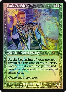 Magic the Gathering Promo Single Dark Confidant Foil (DCI Judge)