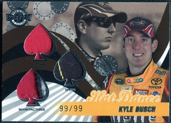 2009 Wheels Main Event Hat Dance Triple #HDKYB Kyle Busch /99