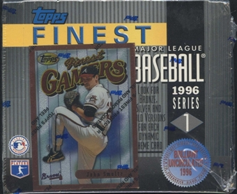 1996 Topps Finest Series 1 Baseball Retail Box