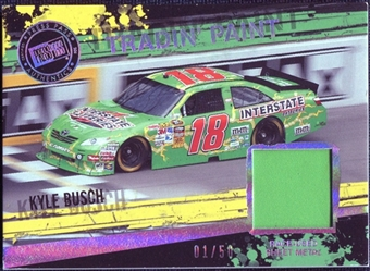 2011 Press Pass Tradin' Paint Sheet Metal Holofoil #TPKYB Kyle Busch /50