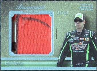 2010 Press Pass Five Star Paramount Pieces #PPKB Kyle Busch /20