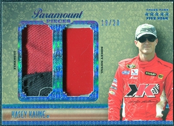2010 Press Pass Five Star Paramount Pieces #PPKK Kasey Kahne /20