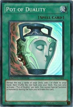 Yu-Gi-Oh Limited Edition Tin Single Pot of Duality Super Rare (CT08)