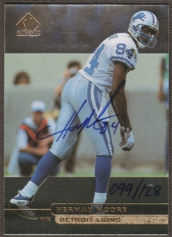 2000 Upper Deck SP Authentic Buy Back Autographs Herman Moore 98SPA /128