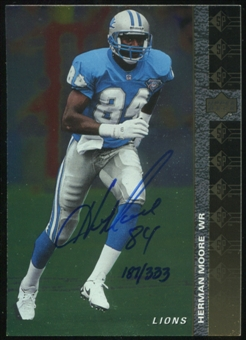 2000 Upper Deck SP Authentic Buy Back Autographs #82 Herman Moore 94SP 187/333