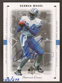 2000 Upper Deck SP Authentic Buy Back Autographs #84 Herman Moore 99SPA /270