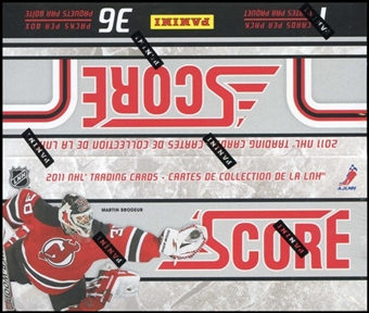 2011/12 Score Hockey 36-Pack Box