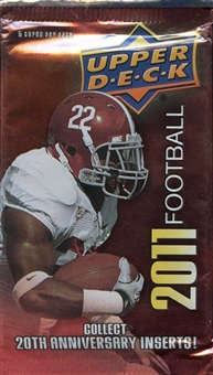 2011 Upper Deck Football Retail 24-Pack Lot