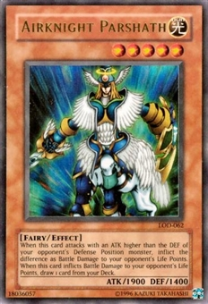 Yu-Gi-Oh Legacy of Darkness Single Airknight Parshath Ultra Rare (LOD-062)