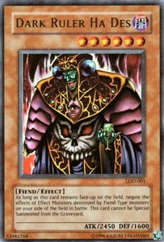 Yu-Gi-Oh Legacy of Darkness Single Dark Ruler Ha Des Ultra Rare (LOD-001)