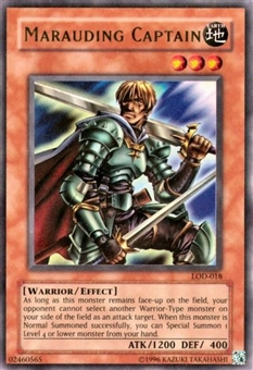 Yu-Gi-Oh Legacy of Darkness Single Marauding Captain Ultra Rare (LOD-018)