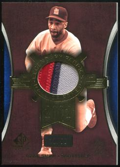 2004 SP Game Used Patch Legendary Fabrics #OS Ozzie Smith 32/50