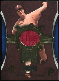 2004 Upper Deck SP Game Used Patch Legendary Fabrics #SC Steve Carlton 7/50
