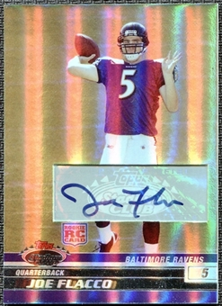 2008 Stadium Club Rookie Autographs Silver Holofoil #104 Joe Flacco 16/50
