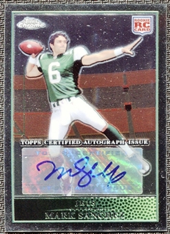 2009 Topps Chrome Rookie Autographs #TC220 Mark Sanchez B