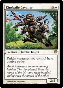 Magic the Gathering Duel Deck Single Kinsbaile Cavalier UNPLAYED (NM/MT)