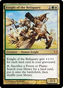 Magic the Gathering Duel Deck Single Knight of the Reliquary Foil