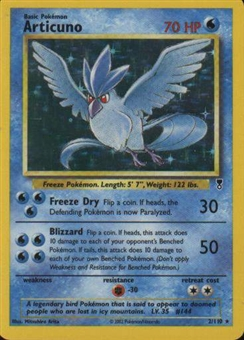 Pokemon Legendary Collection Single Articuno 2/110