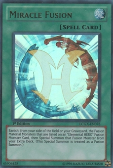 Yu-Gi-Oh Legendary Collection 2 Single Miracle Fusion Ultra Rare