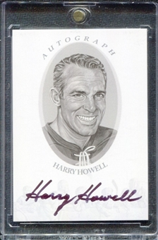 2010/11 ITG Enshrined Autographs Silver #AHH Harry Howell SP /49
