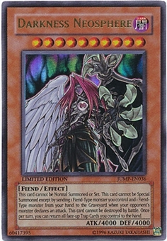 Yu-Gi-Oh Promo Single Darkness Neosphere Ultra Rare JUMP