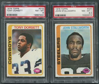 1978 Topps Football Complete Set (NM-MT) With 3 Graded PSA Cards