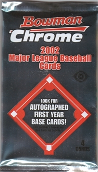 2002 Bowman Chrome Baseball 18 Pack Lot