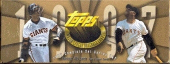 1997 Topps Baseball Hobby Factory Set (box) (Gold)