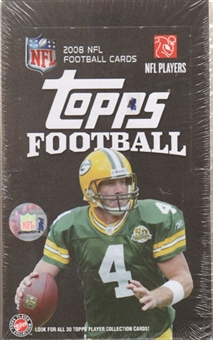 2008 Topps Football 36-Pack Retail Box