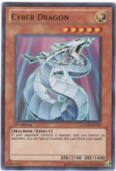 Yu-Gi-Oh Legendary Collection 2 Single Cyber Dragon Ultra Rare