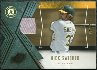 2005 Upper Deck SPx Jersey #83 Nick Swisher /199