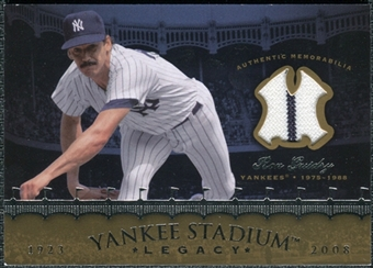 2008 Upper Deck Yankee Stadium Legacy Collection Memorabilia #RG Ron Guidry