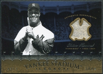 2008 Upper Deck Yankee Stadium Legacy Collection Memorabilia #EH Elston Howard