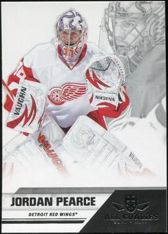2010/11 Panini All Goalies #29 Jordan Pearce 100 Card Lot
