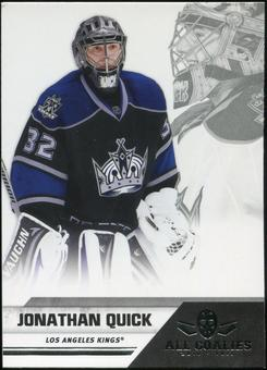 2010/11 Panini All Goalies #38 Jonathan Quick 100 Card Lot