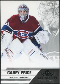2010/11 Panini All Goalies #44 Carey Price 100 Card Lot