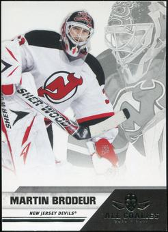 2010/11 Panini All Goalies #50 Martin Brodeur 100 Card Lot