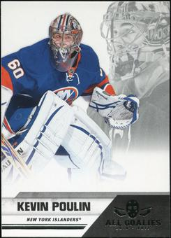 2010/11 Panini All Goalies #54 Kevin Poulin 100 Card Lot