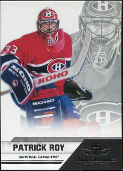 2010/11 Panini All Goalies #90 Patrick Roy 100 Card Lot